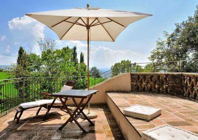 Villa Collepere Suite il terrazzo