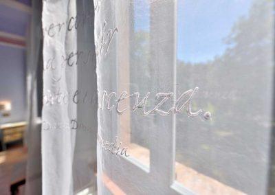 villa-collepere-suite-poesie-poetic embroidery by Maestro Raphael