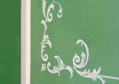 villa-collepere-suite-verde-decorazioni